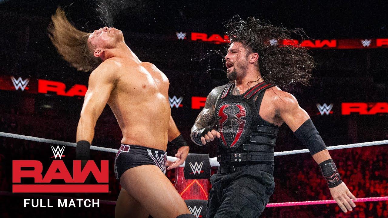 Download FULL MATCH - The Miz vs. Roman Reigns – Intercontinental Title Match: Raw, October 2, 2017