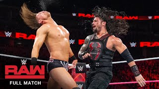 FULL MATCH - The Miz vs. Roman Reigns – Intercontinental Title Match: Raw, October 2, 2017