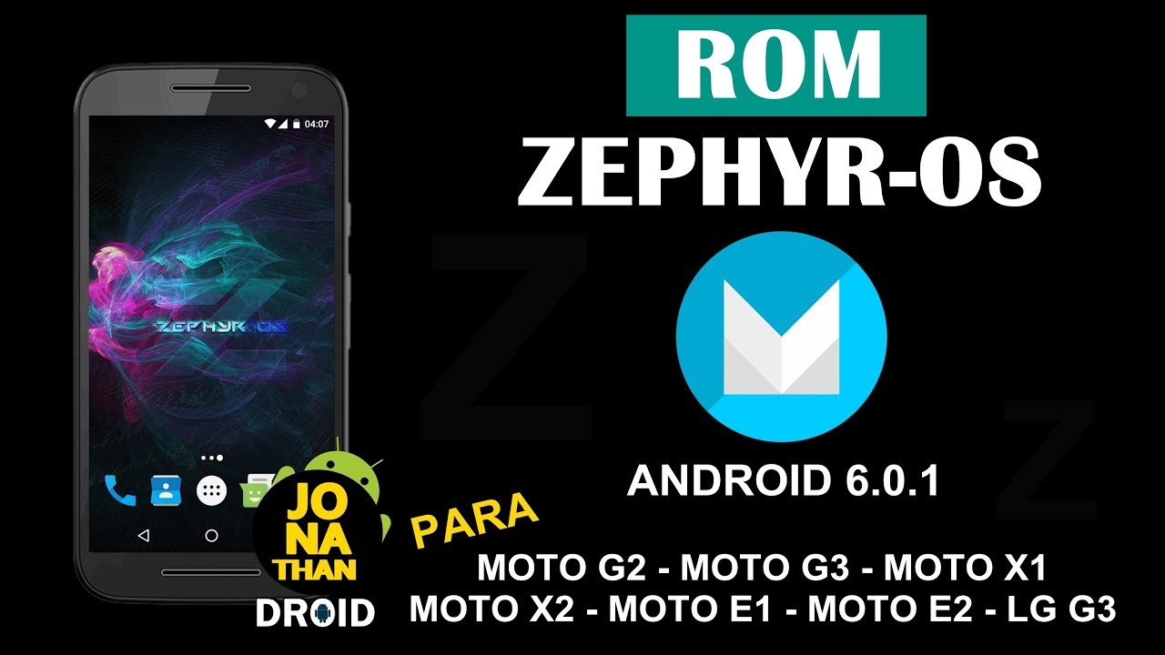 zephyr android 7.1.1 rom