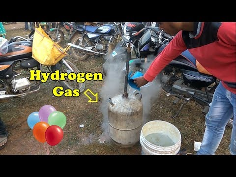 How the Hydrogen Gas is Prepared for Balloon
