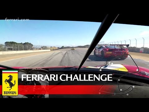 Ferrari Challenge North America - Laguna Seca 2017: On Board