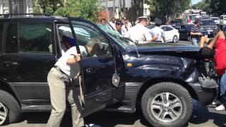 Баку авария (Lexus - Hyundai) 27.07.2012