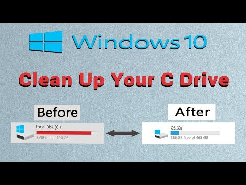 How to Clean C Drive in Windows 10 .