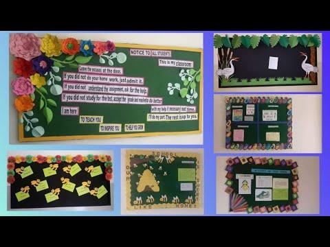 Display Board Designer Border Decoration Ideas For School Home