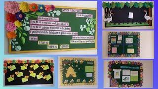 Display board designer border decoration ideas for school, home, office