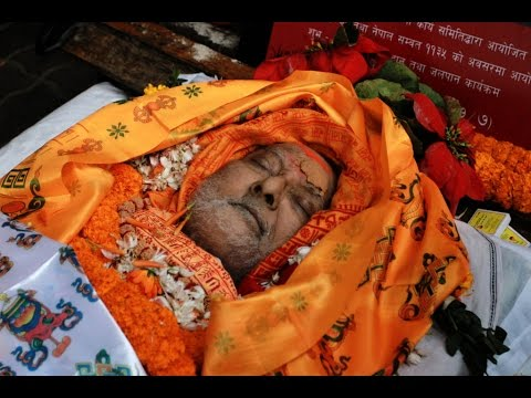 Ex-PM Sushil Koirala's Funeral Procession to Pashupati Aryaghat