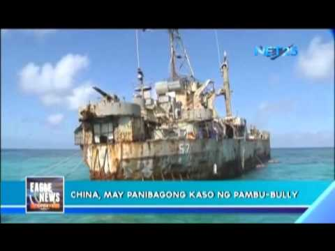DFA complains about China's bullying