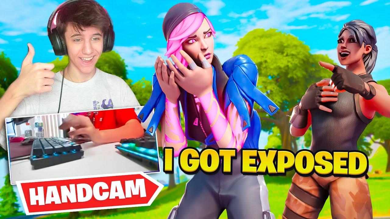 I got EXPOSED... (handcam)