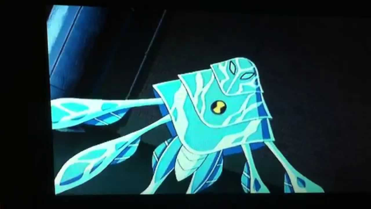 Ben 10 Ultimate Alien AmpFibianAmperi Transformation