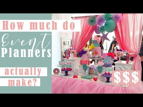 How Much Do Event Planners Make & How To Charge Your Clients! $$$