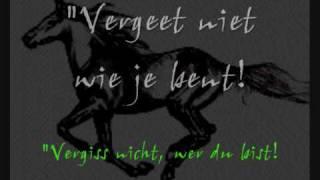 Spirit -Sound the bugle (NL lyrics and DE translation)