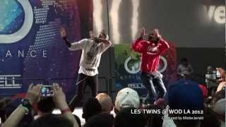 Les Twins || An Exclusive Front Row View - Shot in HD || World of Dance LA 2012 || WOD LA 2012