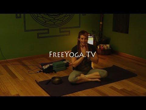 Full 90min Hatha Yoga for Stiff Folks Class, Beginners, with Bryn... FreeYoga.TV