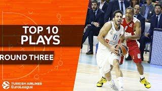 Top 10 Plays  - Turkish Airlines EuroLeague Regular Season Round 3
