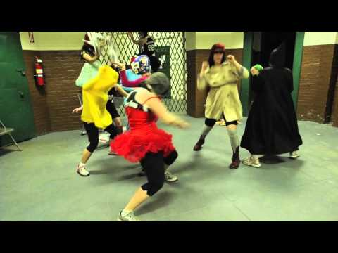 Harlem Shake by Suburbia Roller Derby