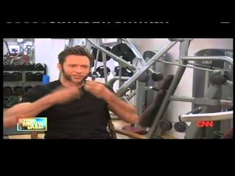 Hugh Jackman describe a 'Wolverine' - YouTube