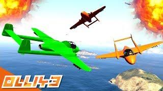 GTA 5 Stockpile : Incredible GTA 5 Air Battle!!
