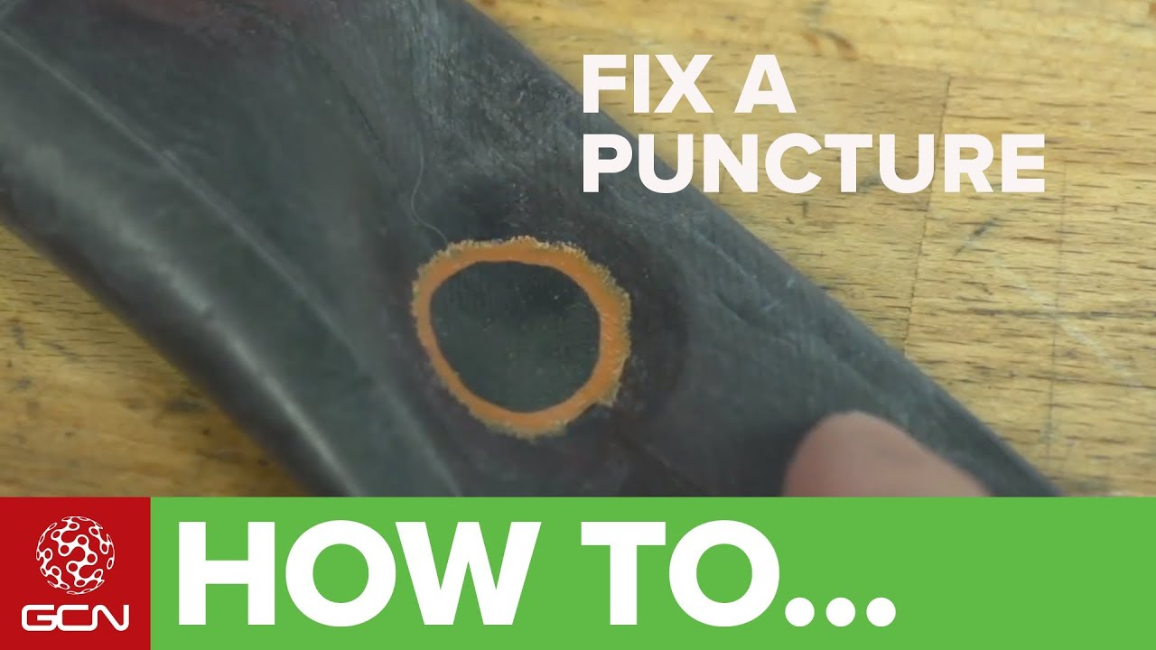 How To Fix A Bike Puncture - Repairing An Inner Tube - YouTube