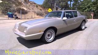 Movie cars avanti ii studebaker rare television car tv movies actors