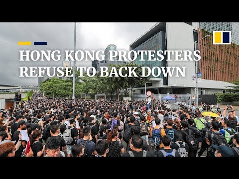 Hong Kong protesters consider next move as Occupy protest leader Joshua Wong released from jail