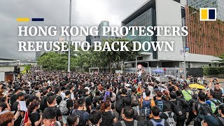 Download Video Hong Kong protesters consider next move as Occupy protest leader Joshua Wong released from jail MP3 3GP MP4