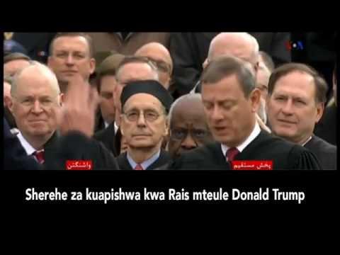 Watch Trump Inaguration/Kuapishwa Rais Donald