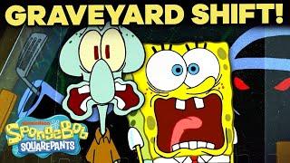 Legend Of The Hash Slinging Slasher Full Scene Graveyard Shift Spongebob