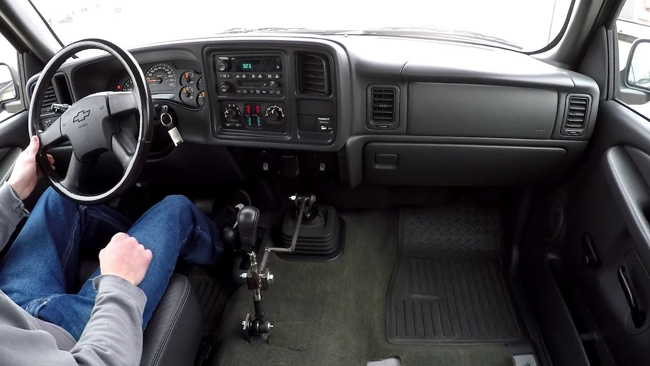 Silverado Remote Shifter Driving Clips Without Console ...