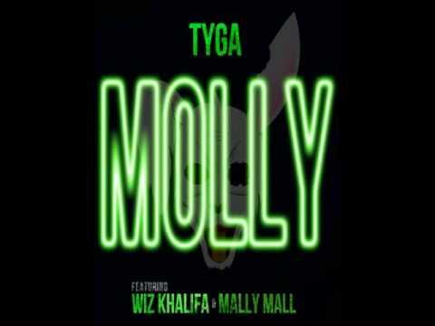 Tyga ft Wiz Khalifa, Mally Mall - Molly-Instrumental