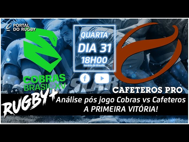 Rugby+ recebe Felipe Sancery para falar da vitória dos Cobras! Mário Domingues conosco também