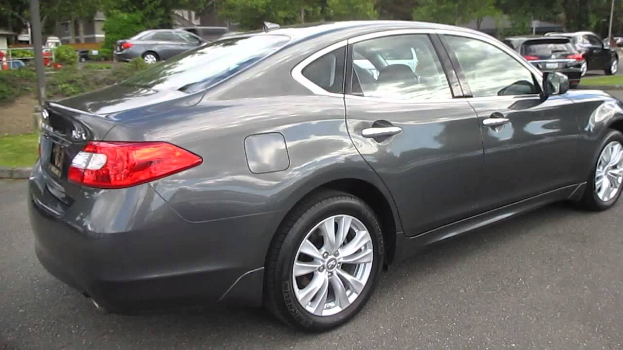2011 infiniti m37 storm front grey stock 5316 walk around 2011 infiniti m37 storm front grey stock 5316 walk around youtube vanachro Image collections