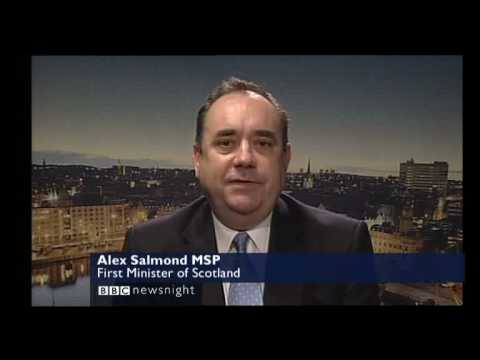 Scotland First Minister Alex Salmond On Megrahi Release and BP Lobbying