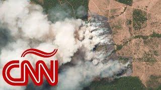 Incendios en la Amazonas: imágenes satelitales muestran la gravedad del desastre
