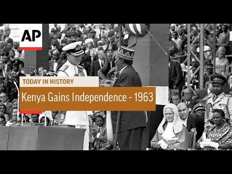 Kenya Gains Independence - 1963  | Today in History | 12 Dec 16