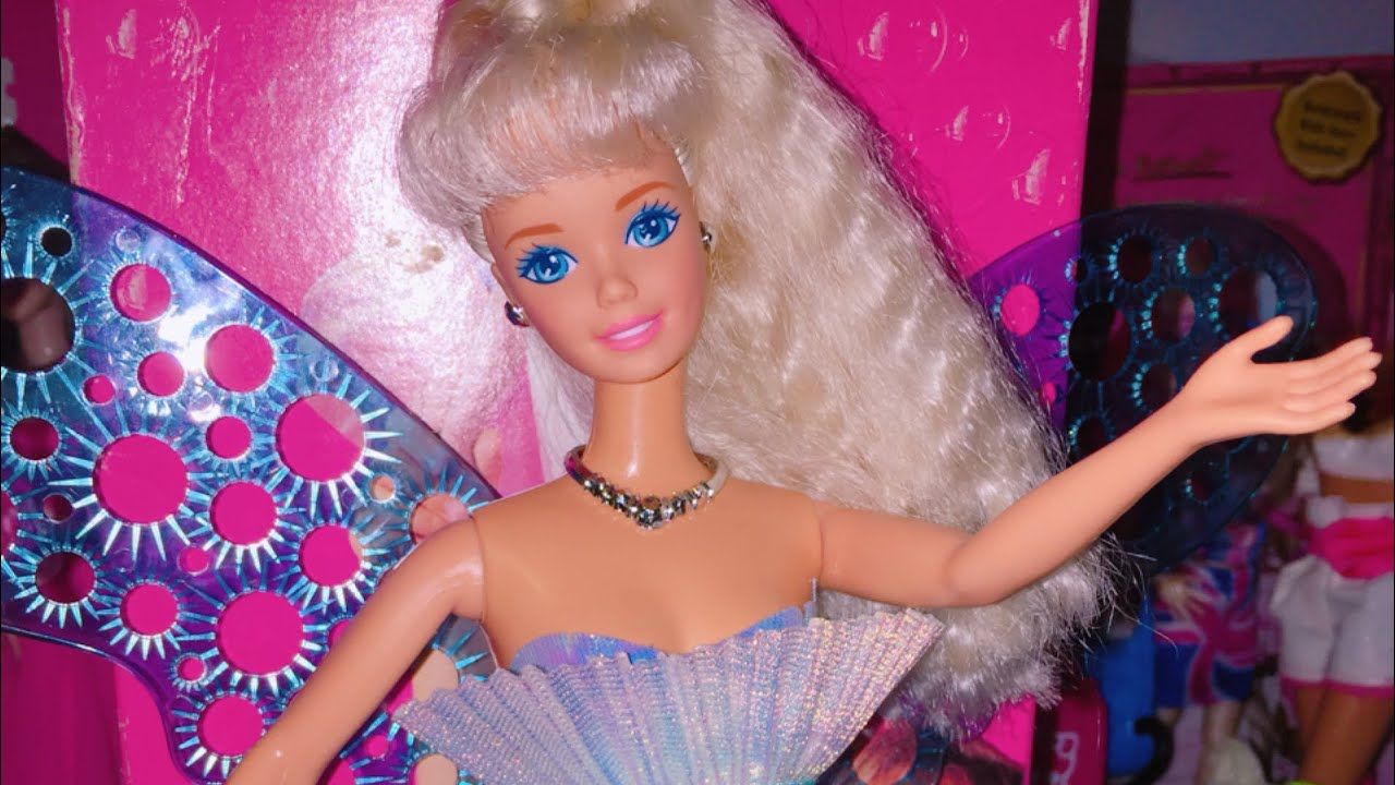 Bubble Angel Barbie Doll Review ! - YouTube