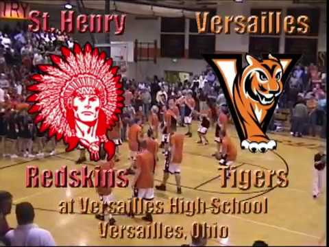 St Henry Redskins at Versailles Tigers BBB 2 4 2004