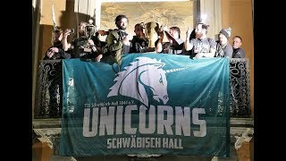 Meisterfeier Unicorns Schwäbisch Hall German Bowl 2017 Champion-Unicornsfootball-Siegerfeier 2017