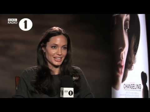 Angelina Jolie with Edith Bowman