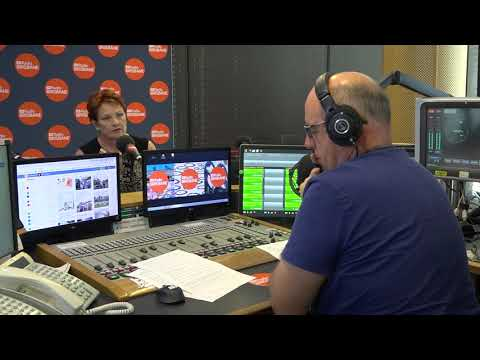 Pauline Hanson speaks with Steve Austin on ABC Radio Brisbane