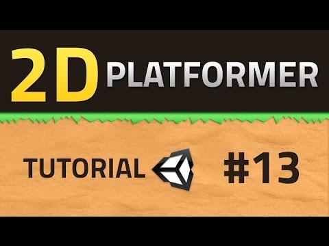 13. How to make a 2D Platformer - RESPAWN EFFECT - Unity Tutorial