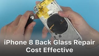 iPhone 8/8P/X Broken Back Glass Repair - A New Cost-effective Way