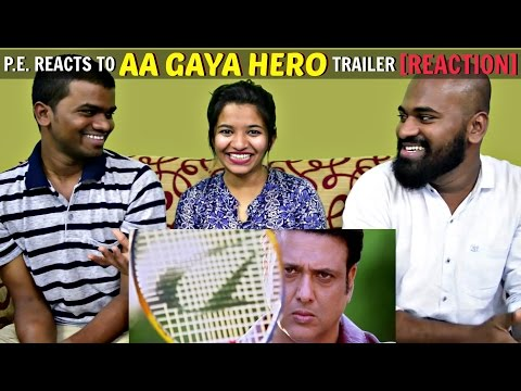 Aa Gaya Hero Official Trailer Reaction & Discussion | P.E. REACTS | Govinda, Poonam Pandey & Seema