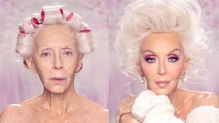 GLAM - at ANY age! Makeup on Mature Skin // PAINTEDBYSPENCER