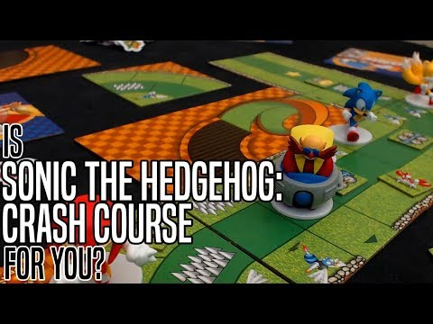 Is SONIC THE HEDGEHOG: CRASH COURSE For You? | Board Game Review