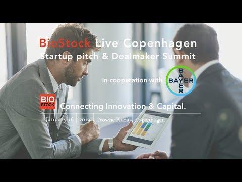 BioStock Live Startup pitch & Dealmaker Summit in Copenhagen 2019-01-16 Eftermiddag