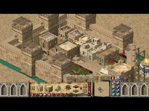 Постройка отличного замка в Stronghold Crusader HD