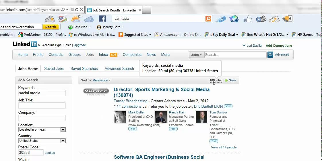 how to add jobs in linkedin