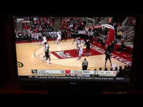 Fans cause turnover: Illinois State vs UCF (Tako Falls)