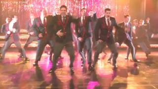 "Glee ""You spin me round"" (Full performance) HD"