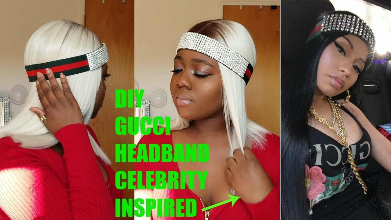DIY GUCCI HEADBAND (AFFORDABLE) - YouTube b3ca2b84b83